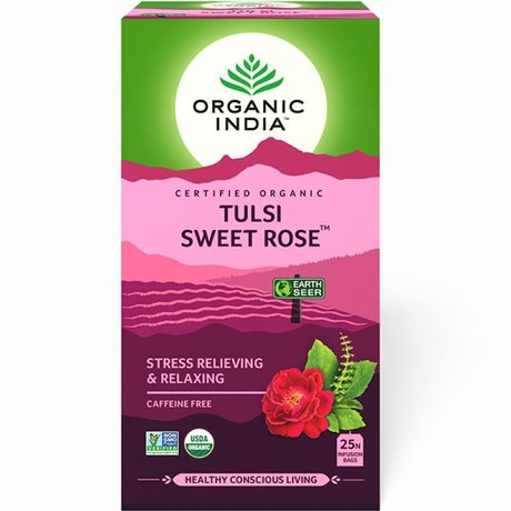 Tulsi Sweet Rose Tea (Тулси Сладка роза чай)