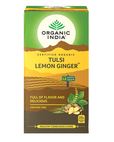 Tulsi Lemon Ginger (Тулси Лимон Джинджифил)